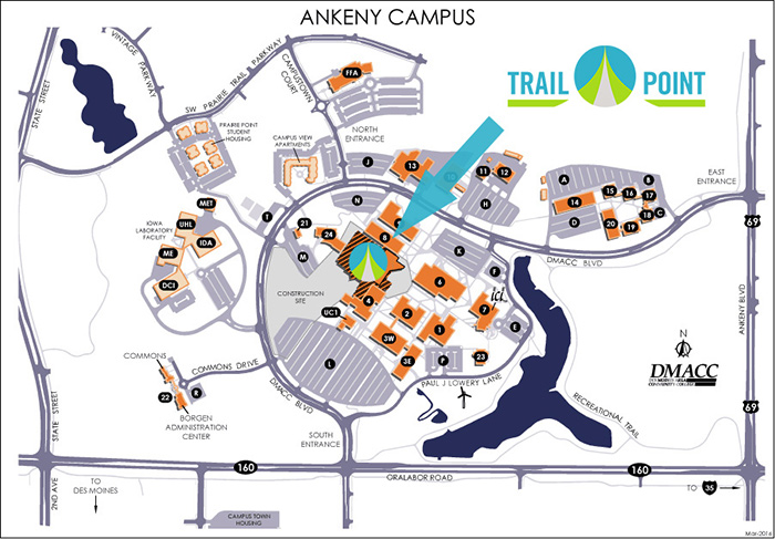 Ankeny Campus Map