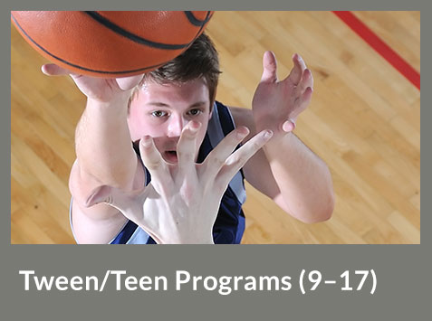 Tween/Teen Programs(9-17)